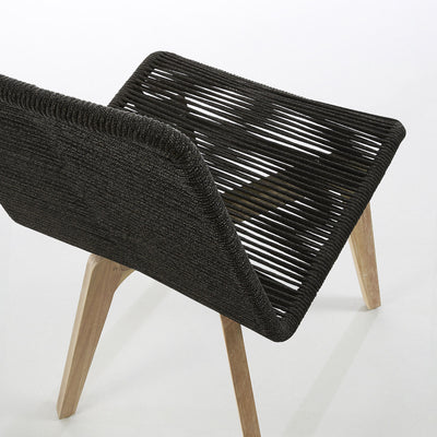 Endo Patio Chair | Charcoal