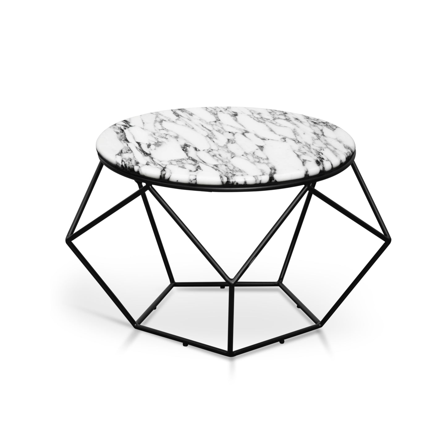 Geom Marble Coffee Table