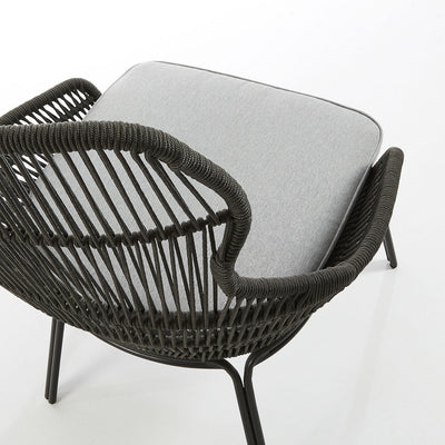 Jet Patio Armchair | Charcoal