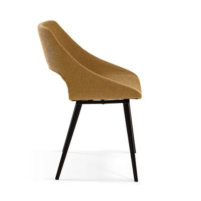 Kirin Dining Chair | Mustard Yellow