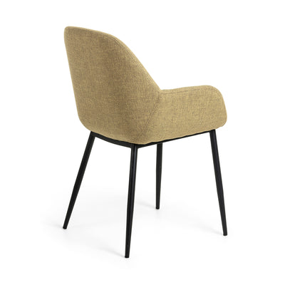 Kylie Dining Chair | Mustard Yellow