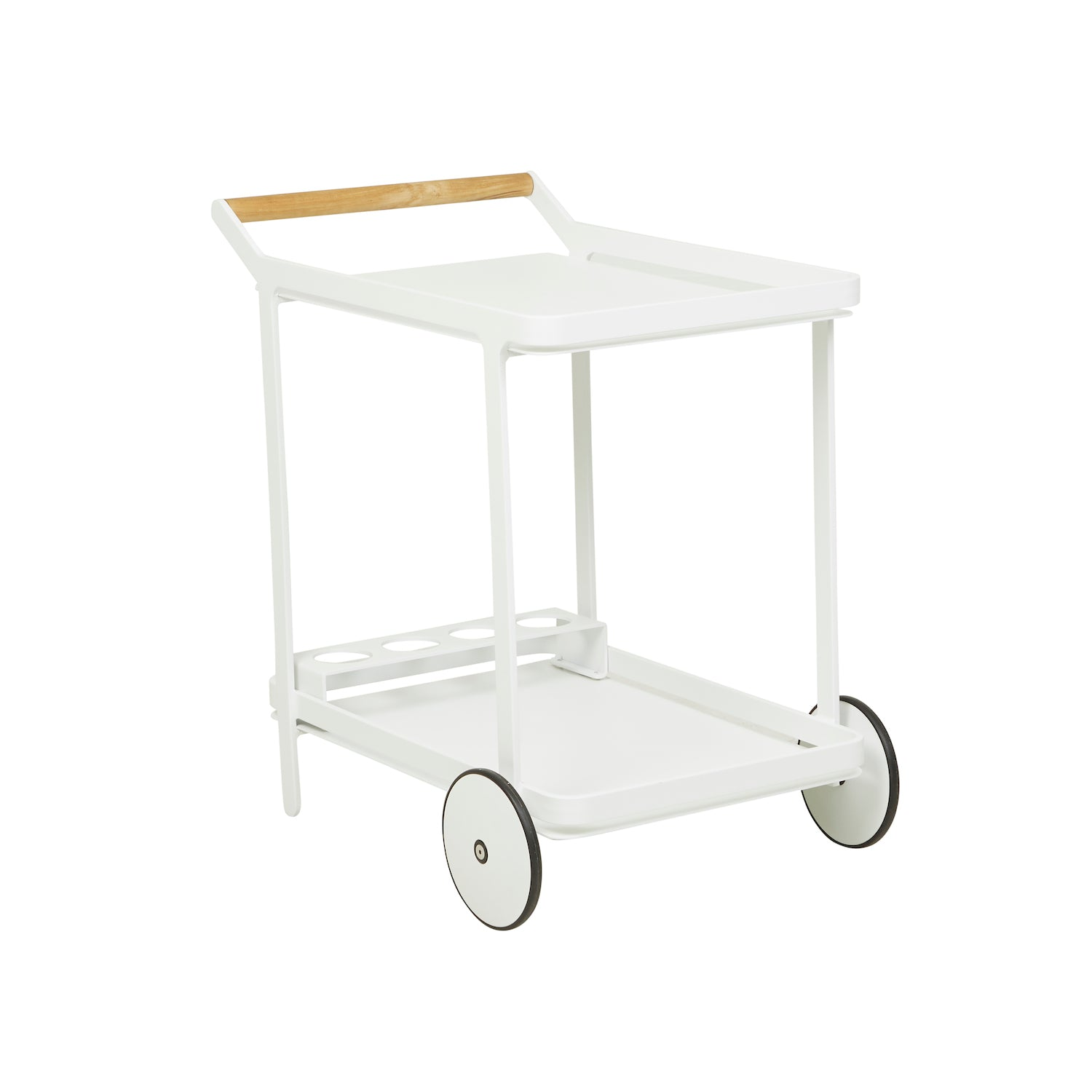 Lagoon Bar Trolley | White