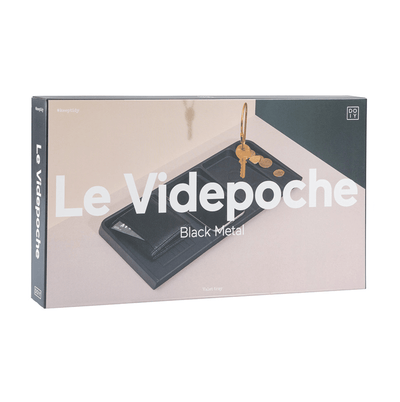 Le Videpoche Desk Caddy | Black