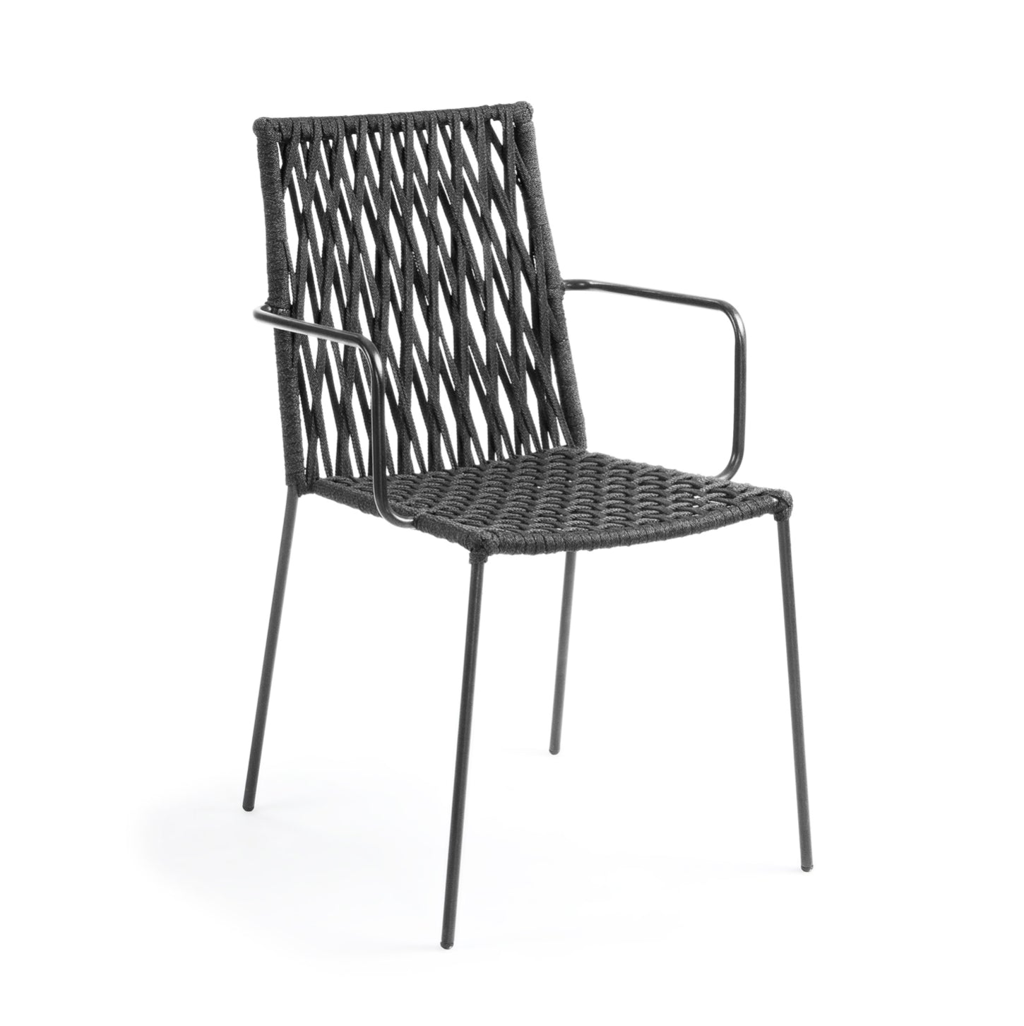 Lex Patio Chair | Charcoal