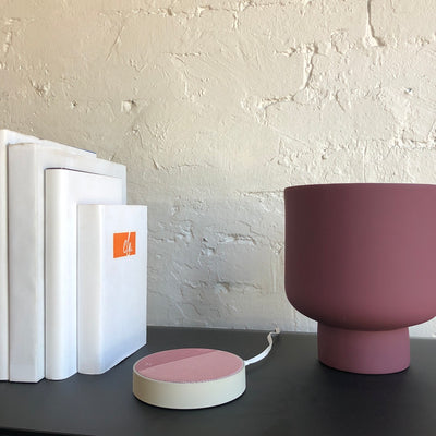 Lexon Oslo Charging Station Speaker | Pink