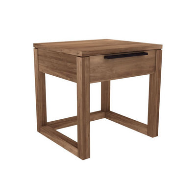 Light Frame Bedside Table | Teak