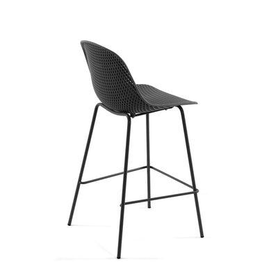 Lonsdale Bar Height Patio Barstool | Charcoal