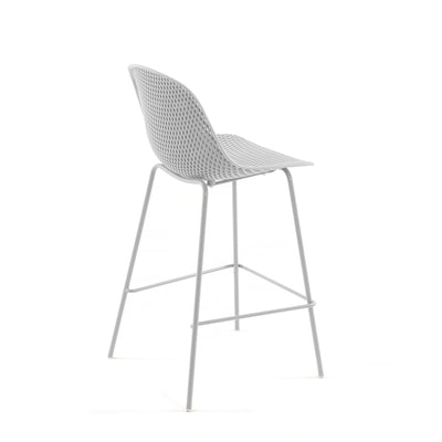 Lonsdale Bar Height Patio Barstool | White