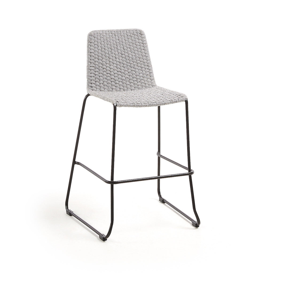 Meggie Patio Bar Height Barstool | Grey