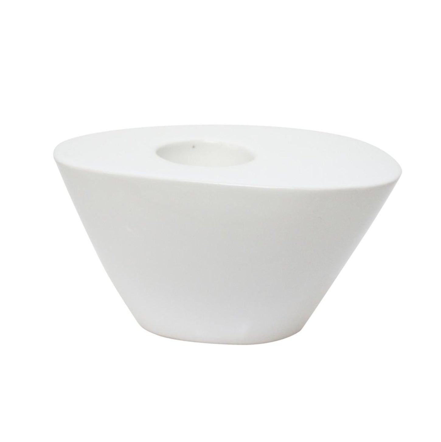 Modern Tealight Holder | White
