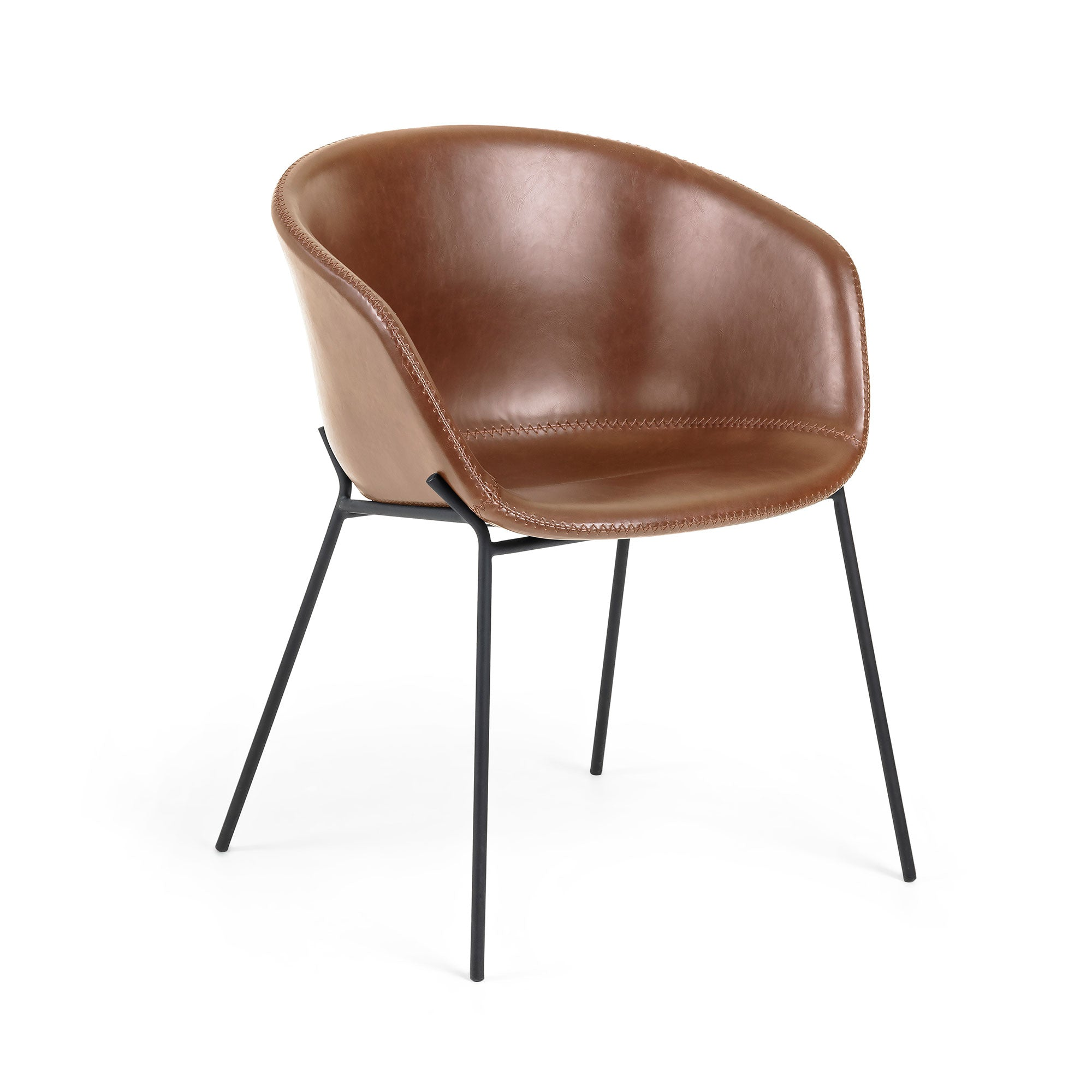 Modine Dining Chair | Rust