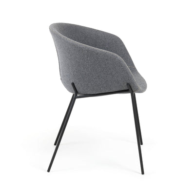 Modine Dining Chair | Steel Grey
