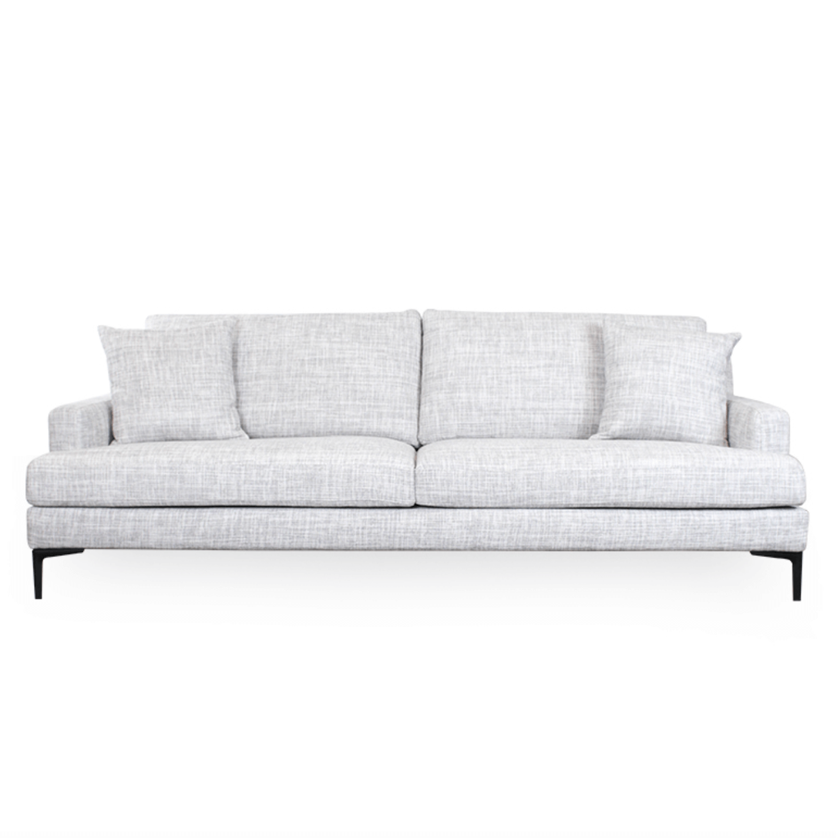 Mokan Sofa | Linen Grey