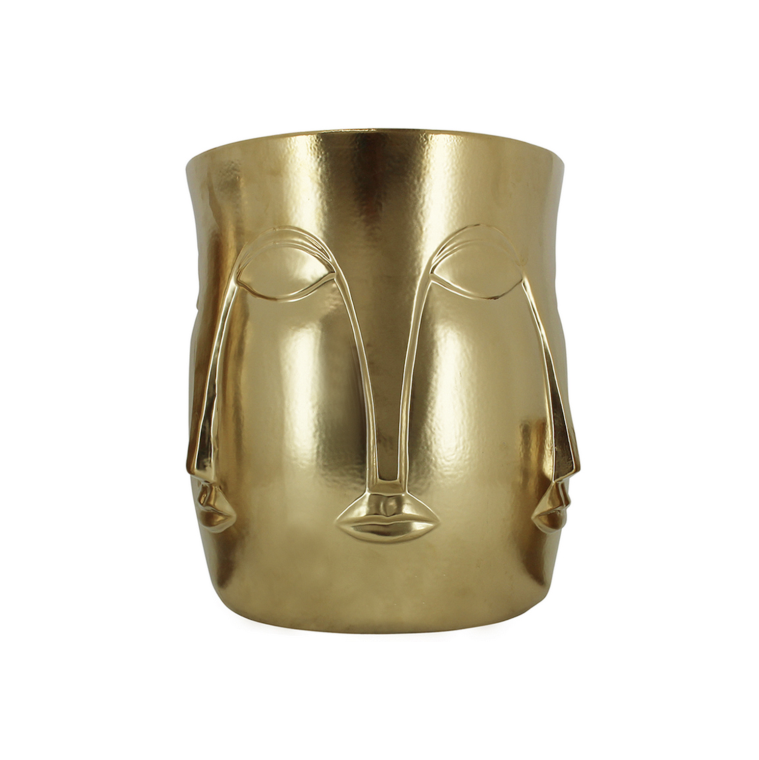 Mona Face Planter LRG | Gold