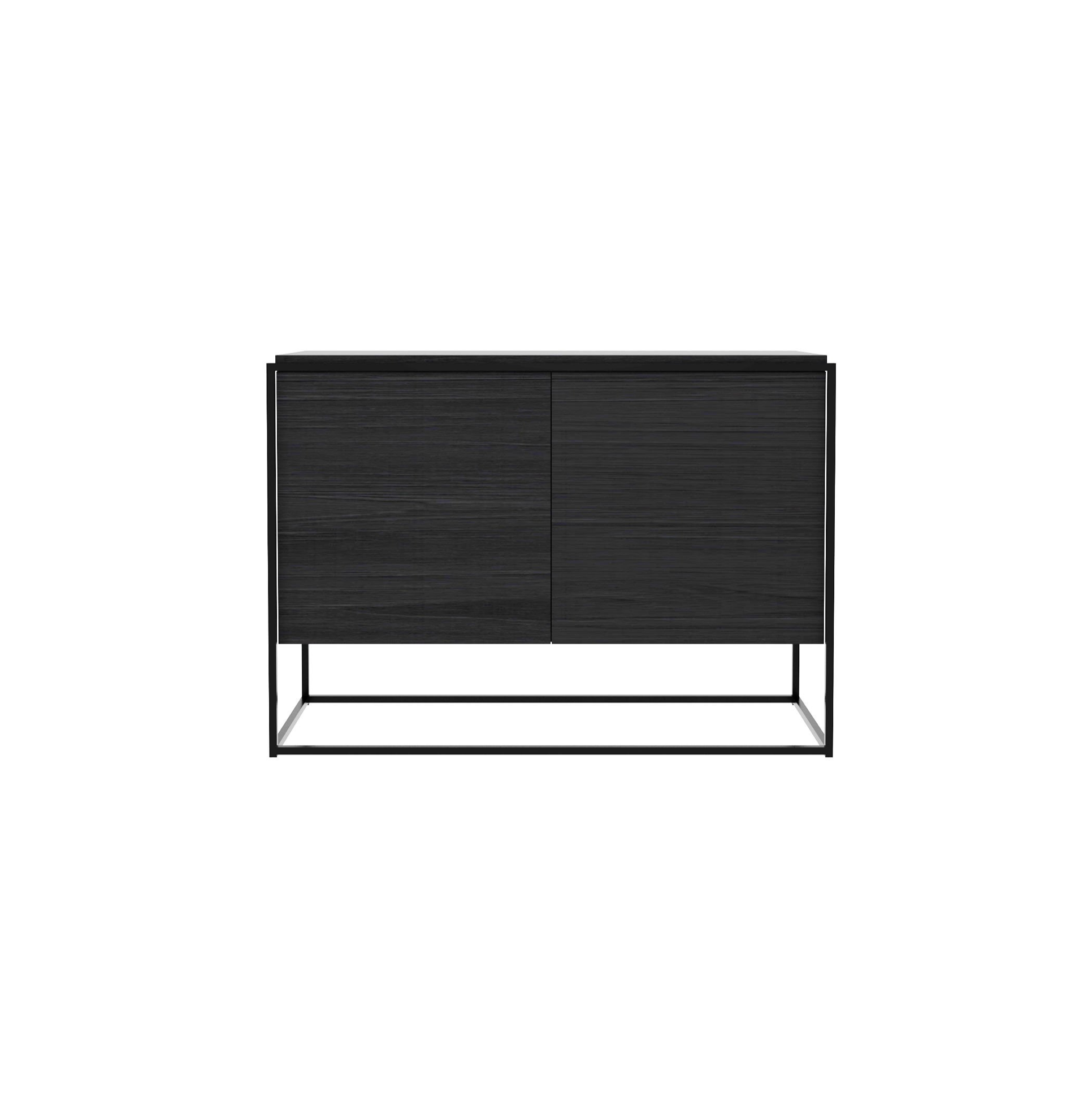 Monolit Buffet Cabinet | Black Oak