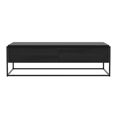 Monolit Entertainment Cabinet | Black Oak