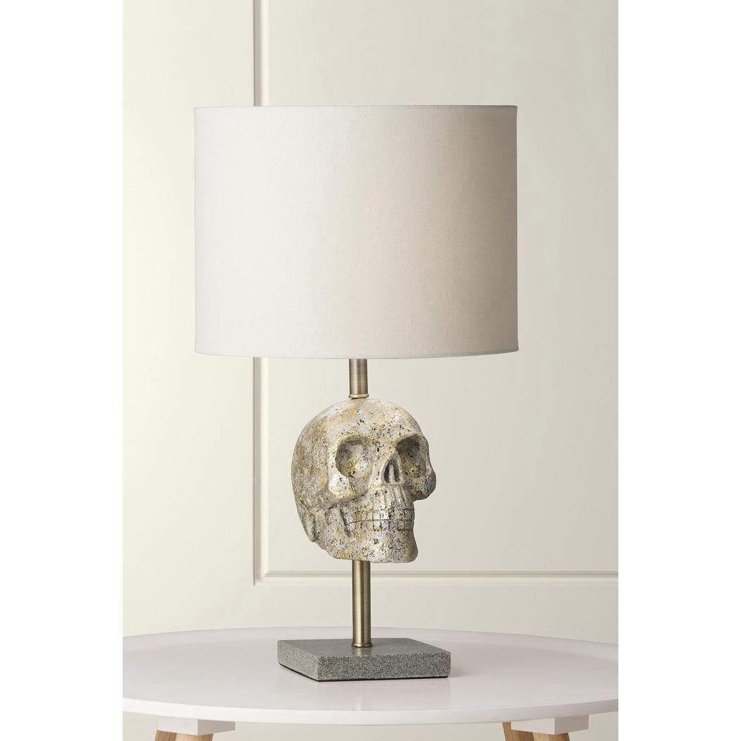 Morgan Skull Table Lamp