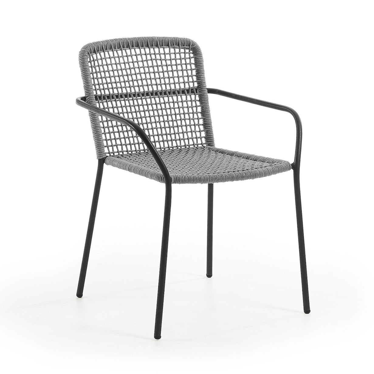 Nash Patio Chair | Grey