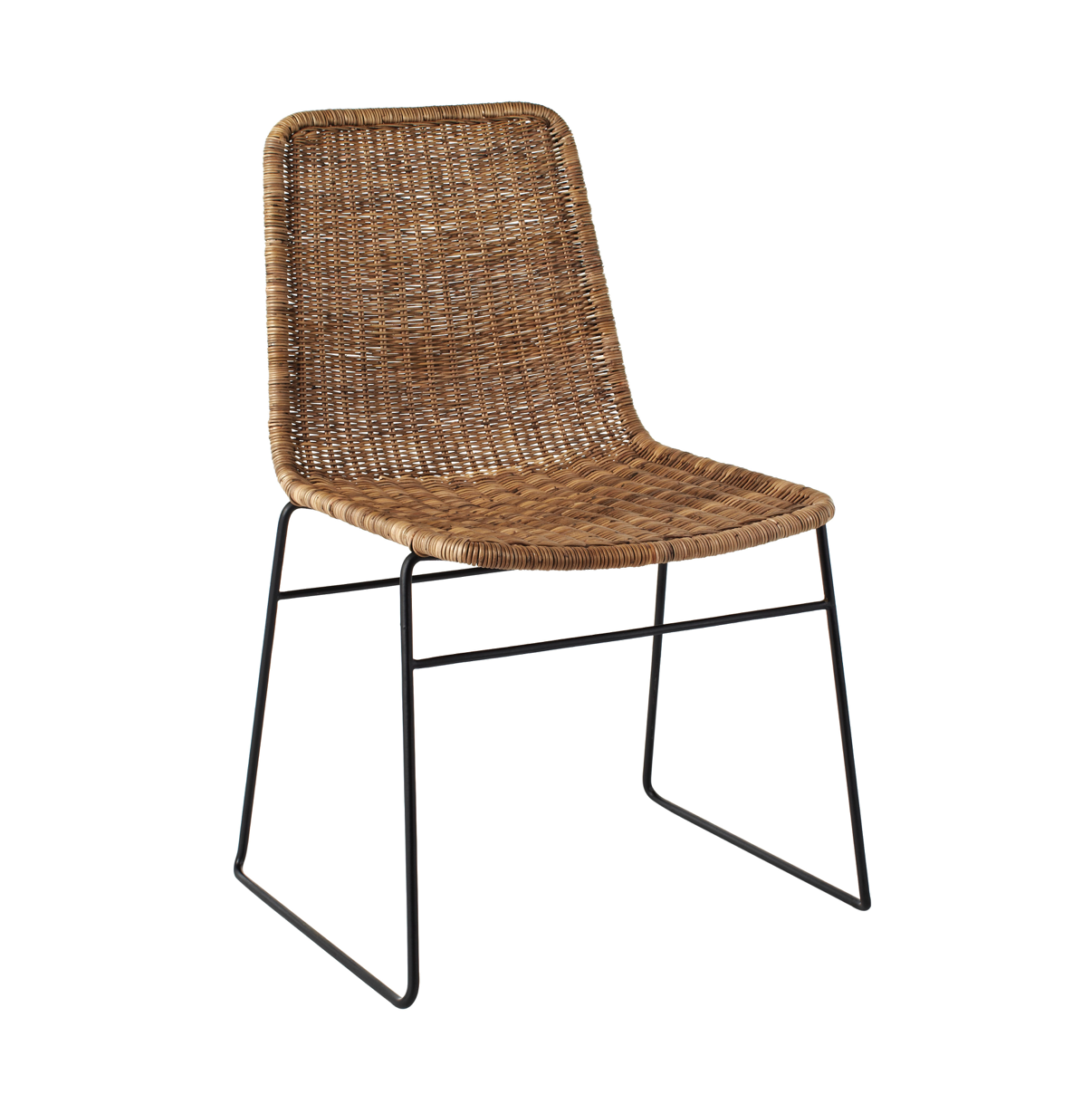 Olivia Dining Chair | Greywash Rattan