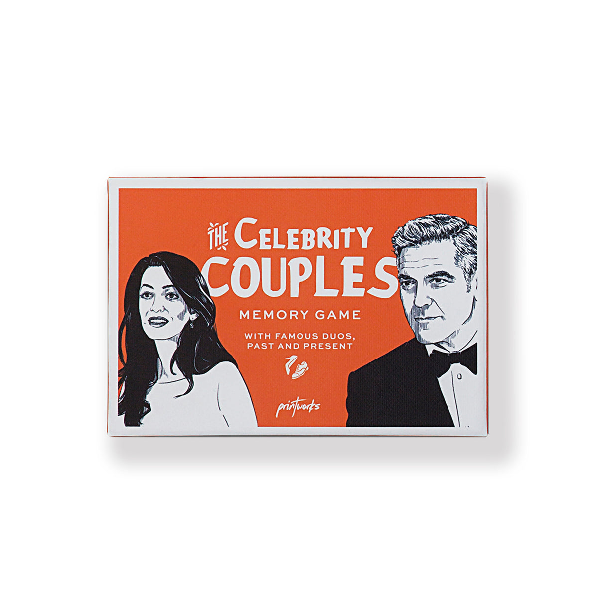 Celebrity Couples Memory Card Game