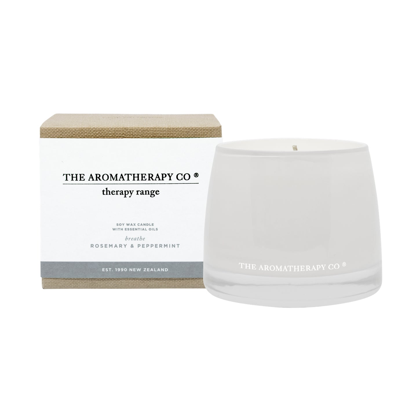 Rosemary and Peppermint Soy Candle