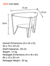 Dino 1347 Side Table