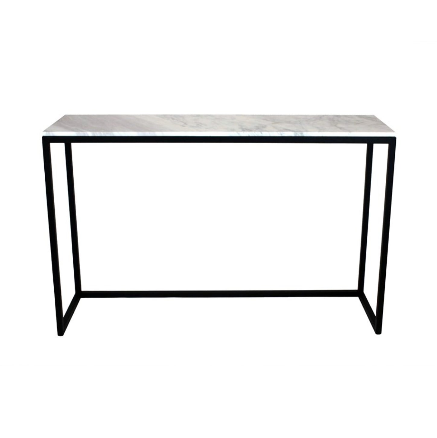 Sera Marble Console Table | White Marble