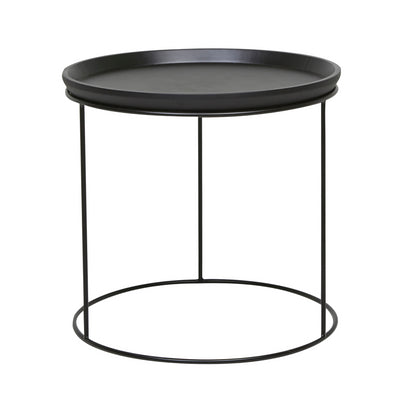 Soho Cirque Round Side Table | Dark Wenge