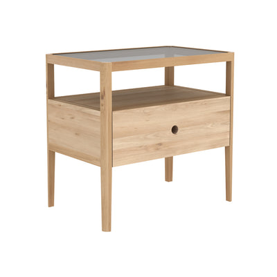 Spindle Bedside Table | Oak