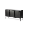 Stairs Buffet 3 Door | Black Oak