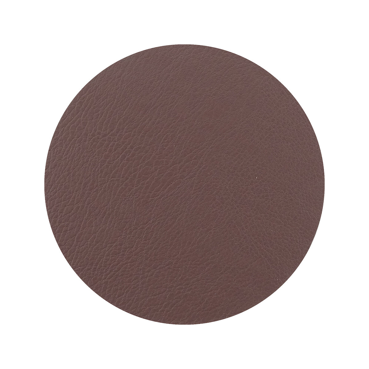Togo Faux Leather Coaster Set | Brown