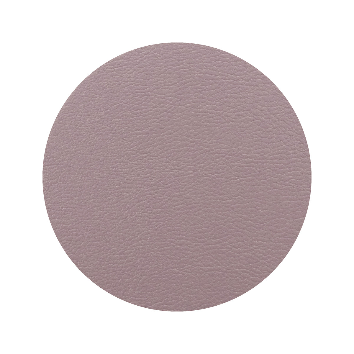 Togo Faux Leather Coaster Set | Mauve