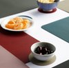 Togo Faux Leather Placemat | Blue