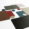 Togo Faux Leather Placemat | Taupe