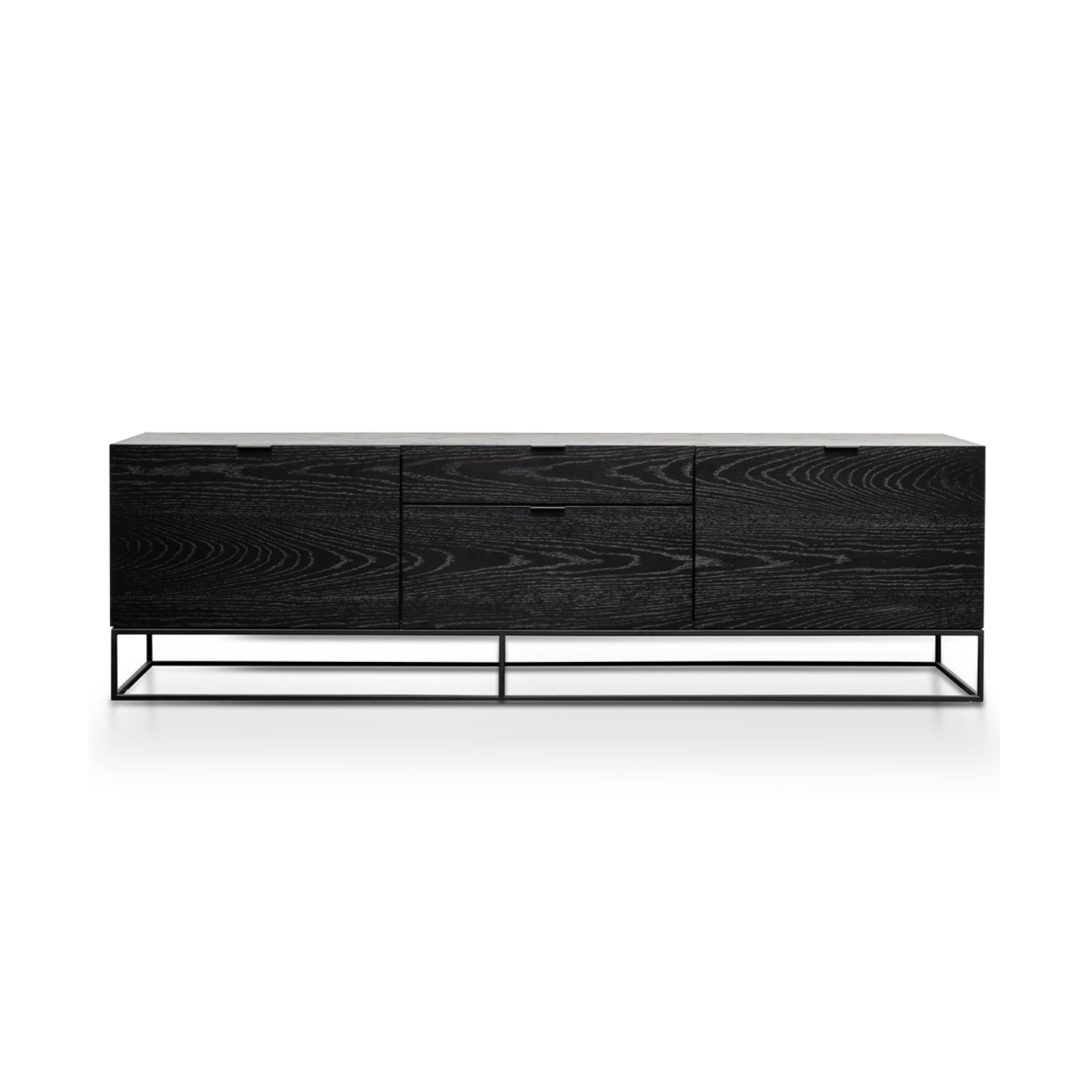 Tom Entertainment Cabinet | Black Oak