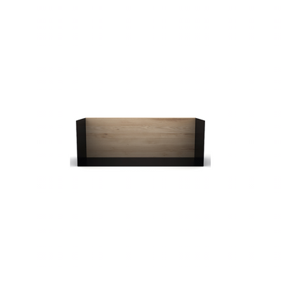 U Floating Bookshelf MED | Oak