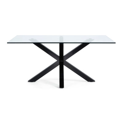 Vega 1500x900 Glass Dining Table