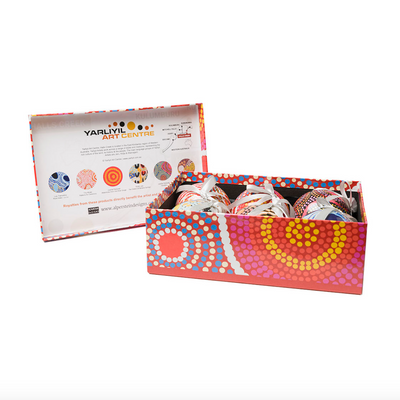 Yarilyil Aboriginal Christmas Balls Set