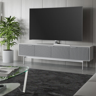 Align 7473 Entertainment Cabinet | Satin White