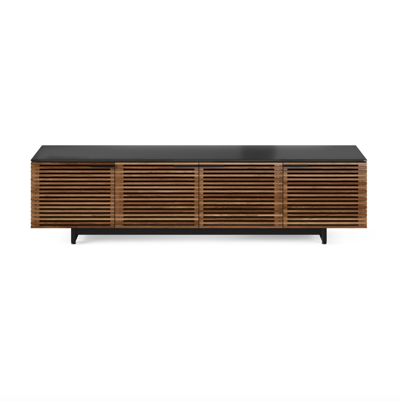 Corridor 8173 Entertainment Cabinet | Natural Walnut