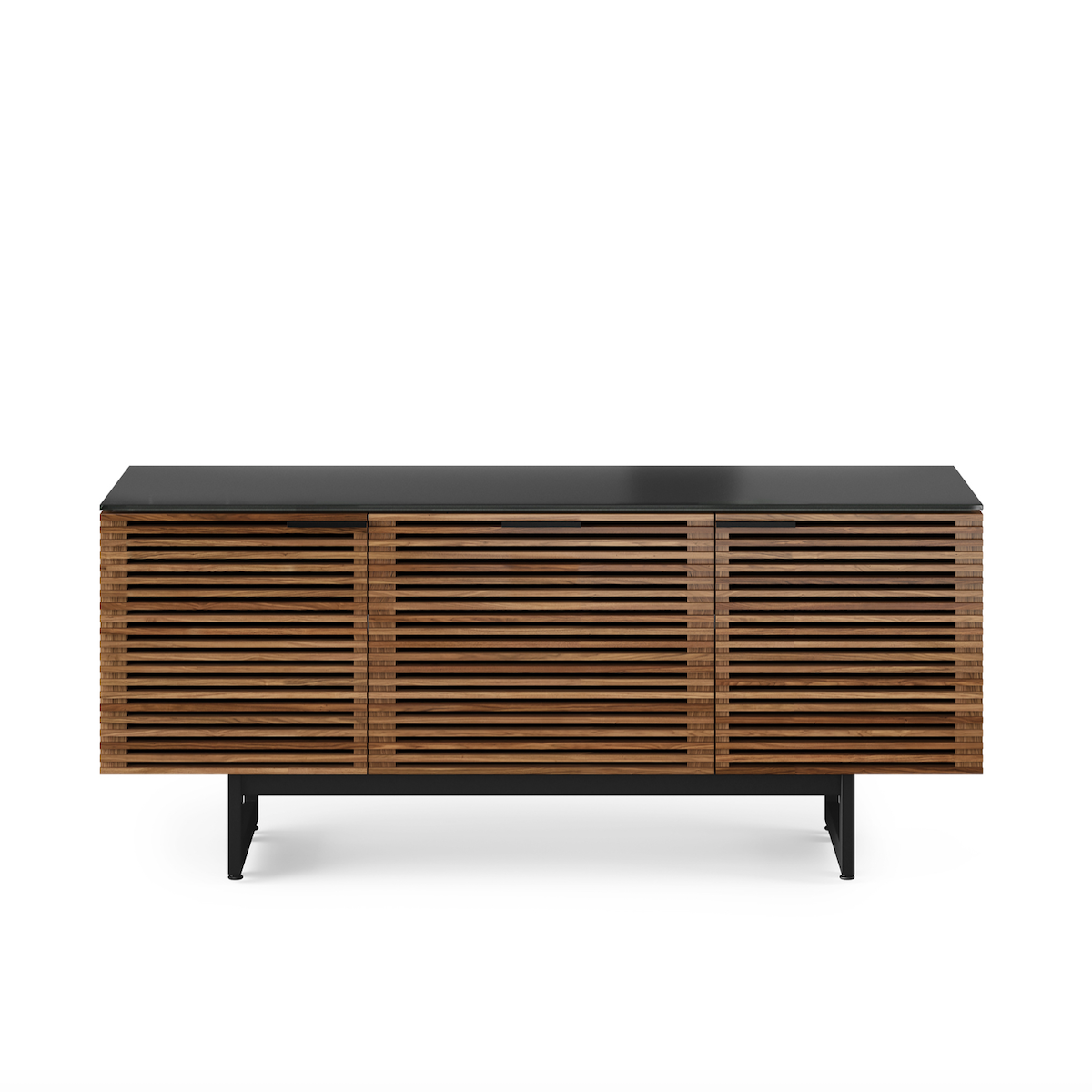 Corridor 8177 Entertainment Cabinet | Natural Walnut