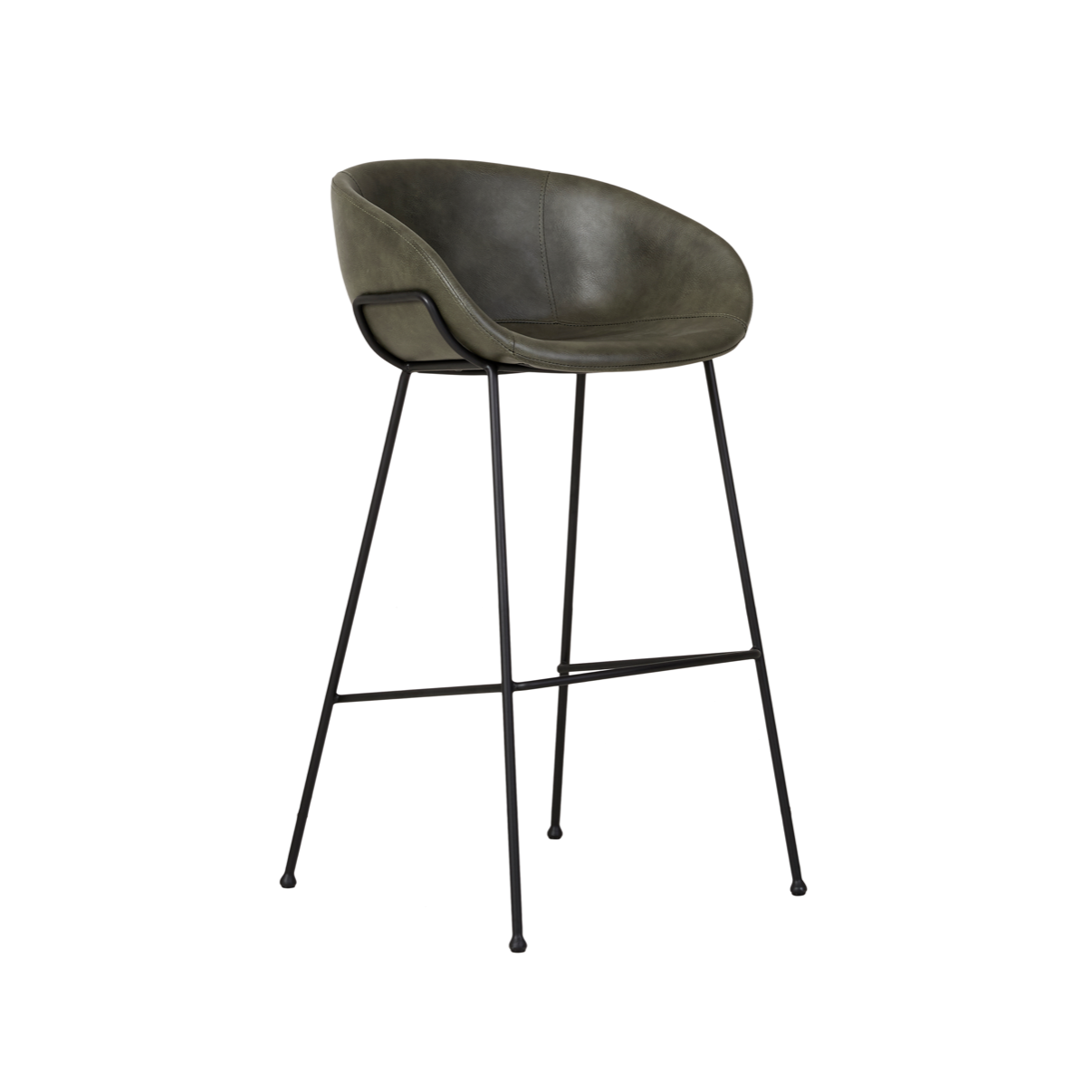 Duke Bench Barstool | Green