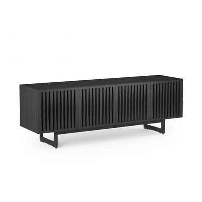 Elements Tempo 8779 Media Base Entertainment Cabinet | Charcoal Stained Ash