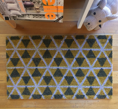 Danish Yellow Doormat