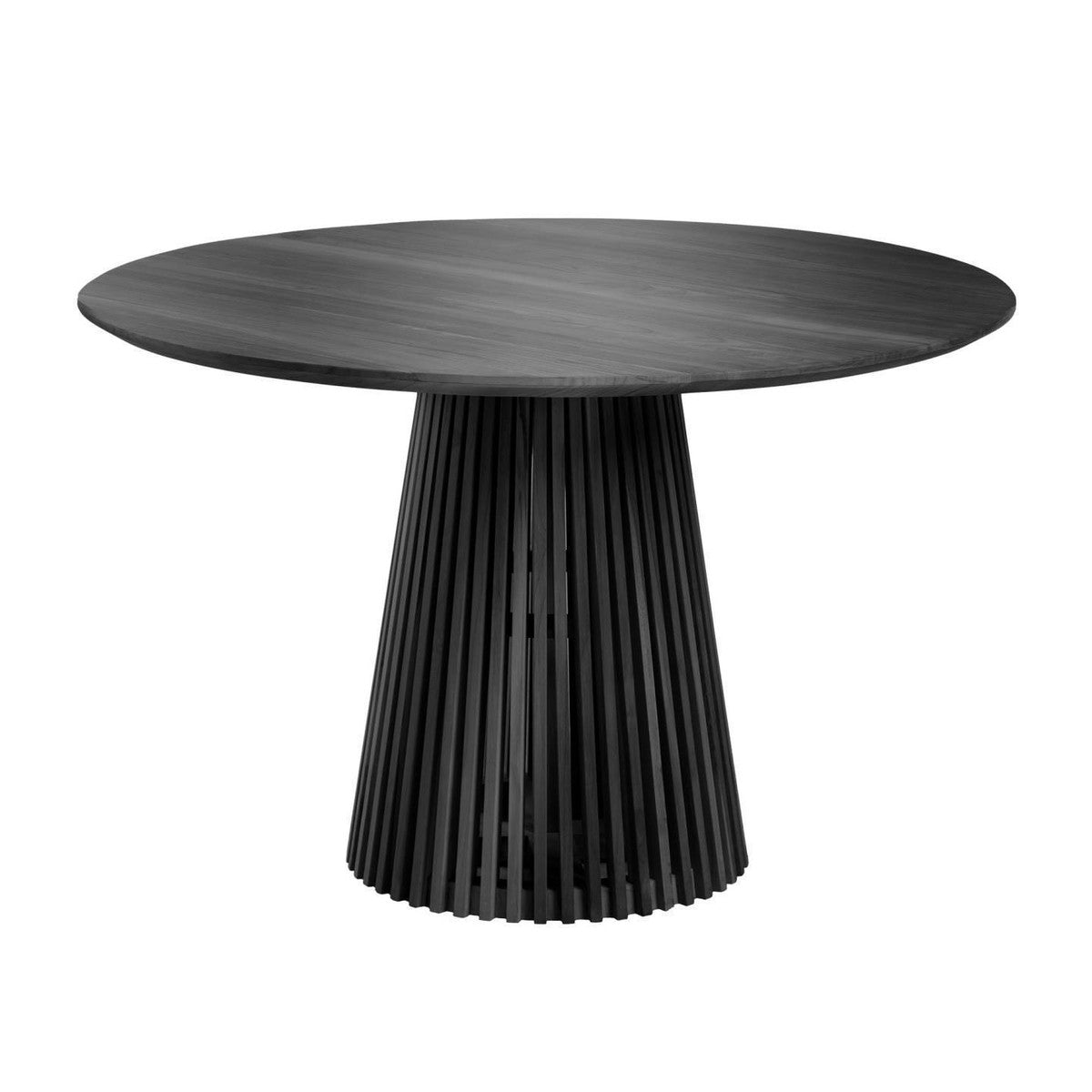 Finn Round Dining Table | Black