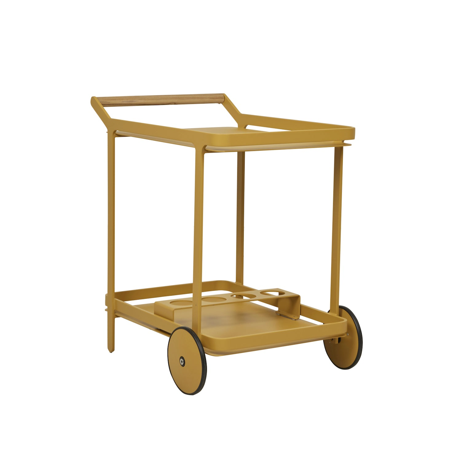 Lagoon Bar Trolley | Mustard
