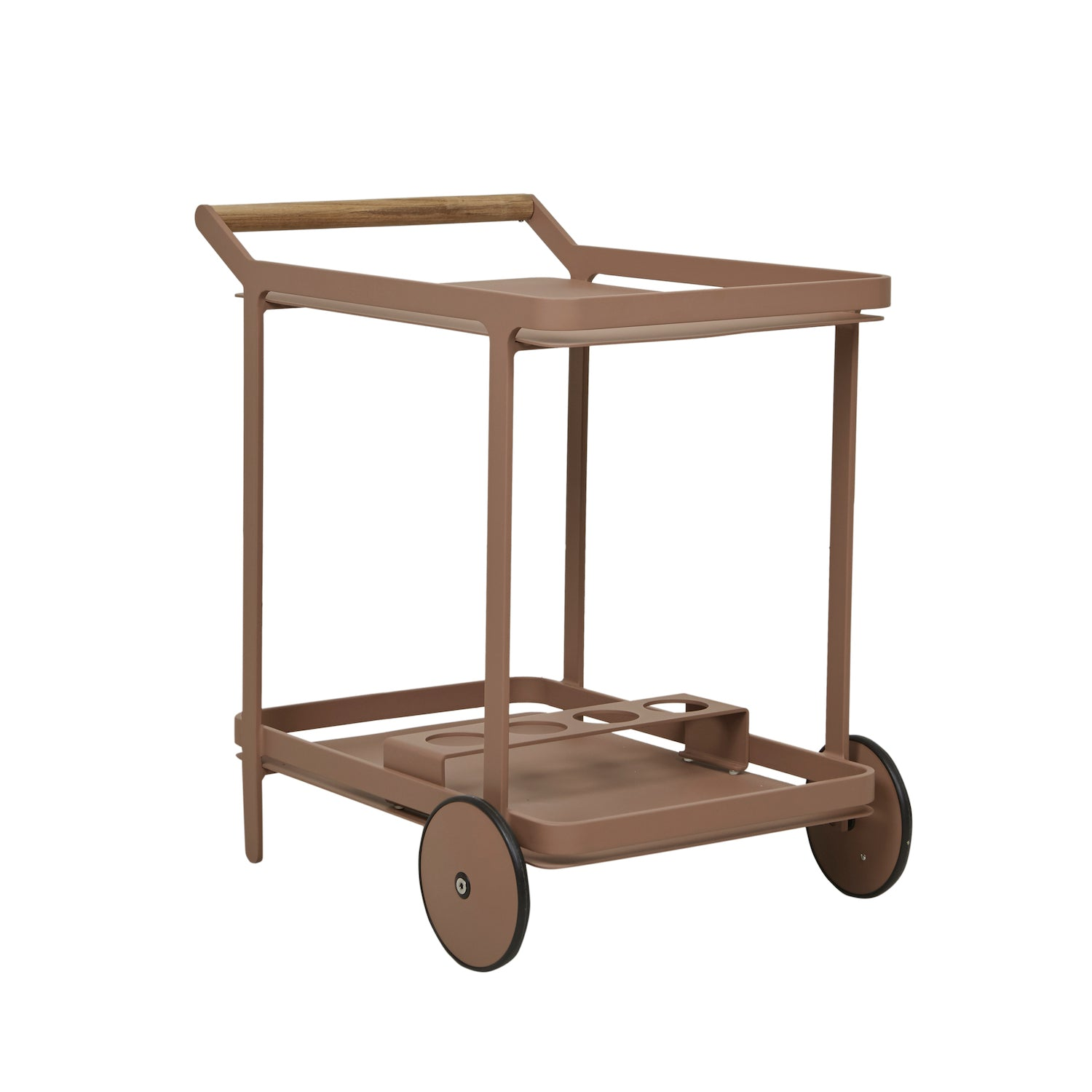 Lagoon Bar Trolley | Terracotta