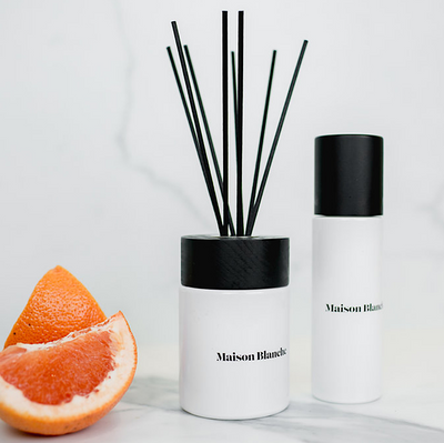 Grapefruit and Rosemary Diffuser Set