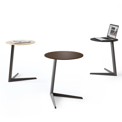 Milo 1055 Side Table | Charcoal Stained Ash