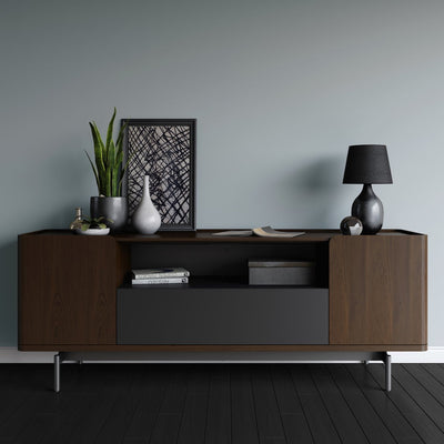 Radius 8839 Entertainment Cabinet | Toasted Walnut